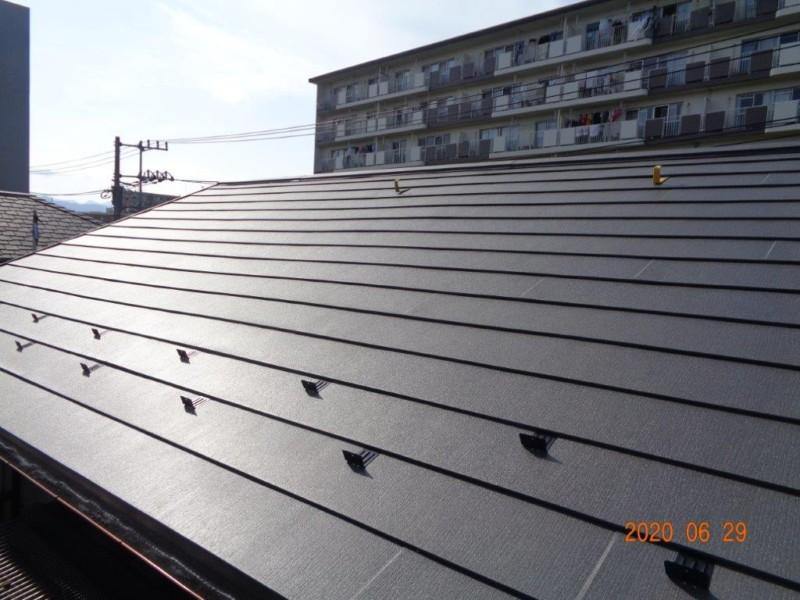 海老名市S様邸 屋根葺き替え 和瓦→ガルバリウム鋼板